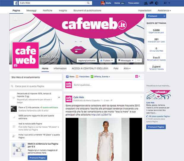 Facebook.com/cafewebit